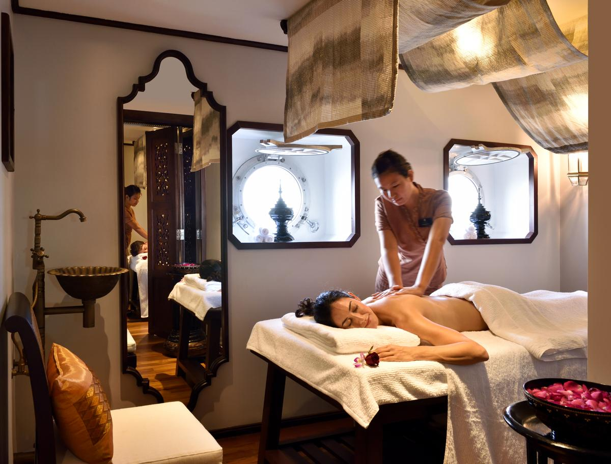 The spa menu has been designed to embrace traditional Burmese therapies that stay true to the L'Occitane experience