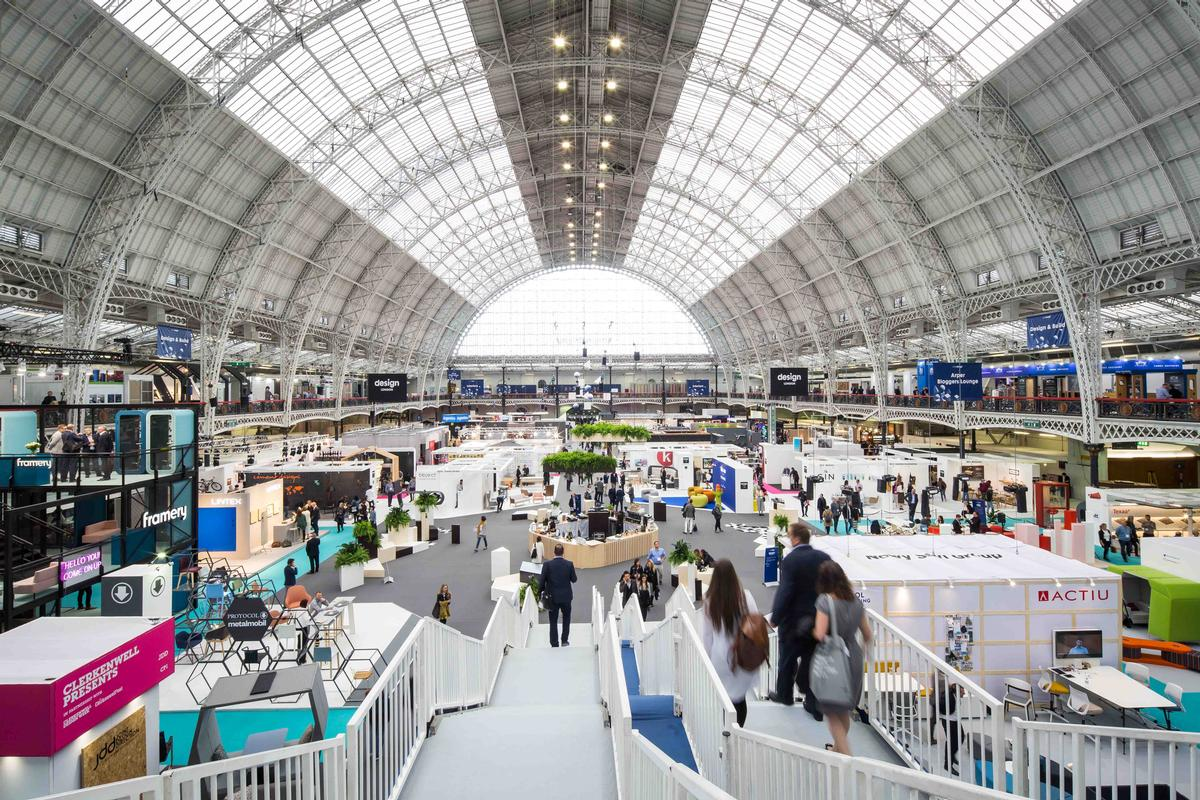 Located in Kensington, the London Olympia venue was first built in 1886 as the National Agricultural Hall / Sophie Mutevellian