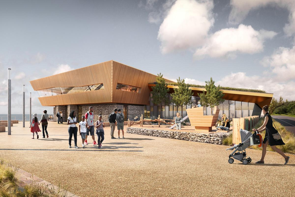 The £10m leisure centre in on a former landfill site
