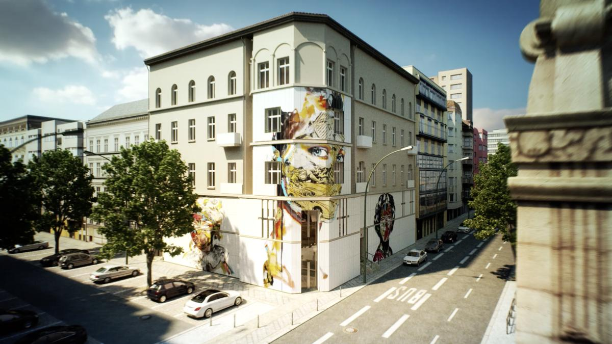 Architects And Street Artists Have Collaborated On The Project / The Urban  Nation Museum For Comtemporary Art