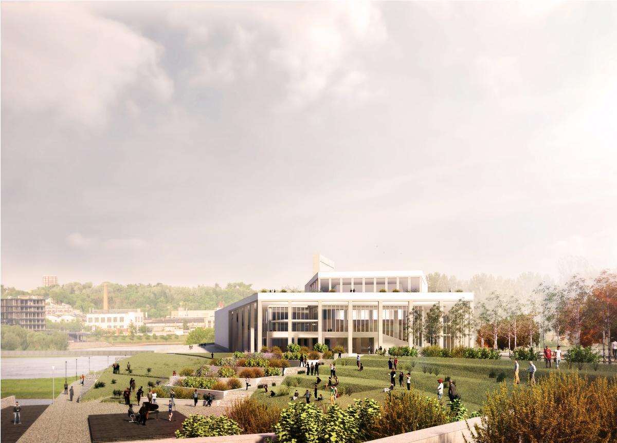 Feilden Clegg Bradley Studios' design submission / Malcolm Reading Consultants/Feilden Clegg Bradley Studios