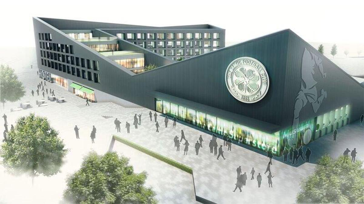 the museum and hotel plan would create up to 120 jobs also providing an economic boost to the area while reducing congestion around the stadium celtic fc