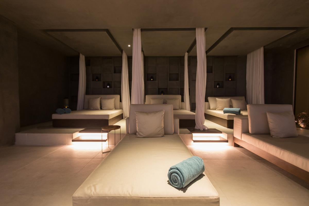 The club is outfitted with LivNordic's 'Wellness the Nordic Way' concept, infusing the design, treatments, service and amenities of Nordic countries while being sensitive to the culture of the Middle East