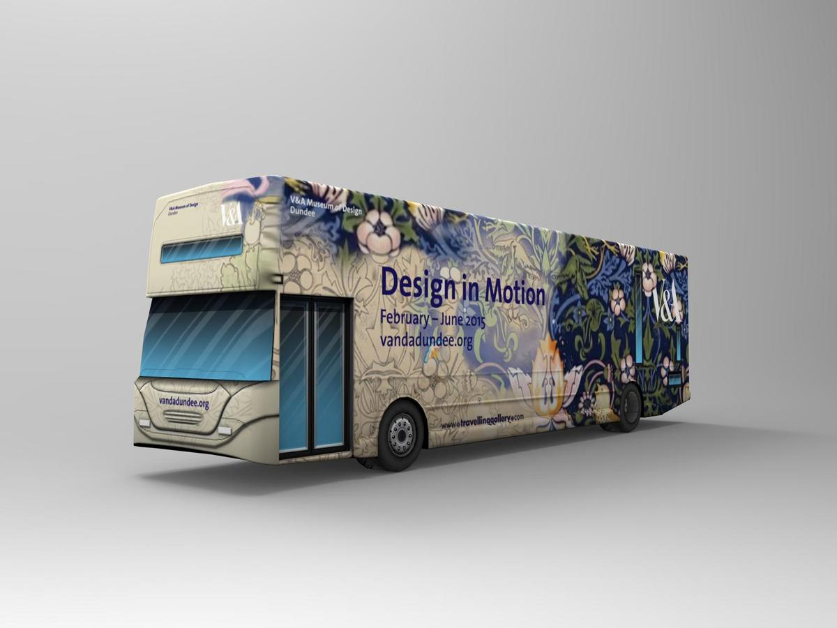 The travelling exhibition will be housed inside a bus / VisitScotland