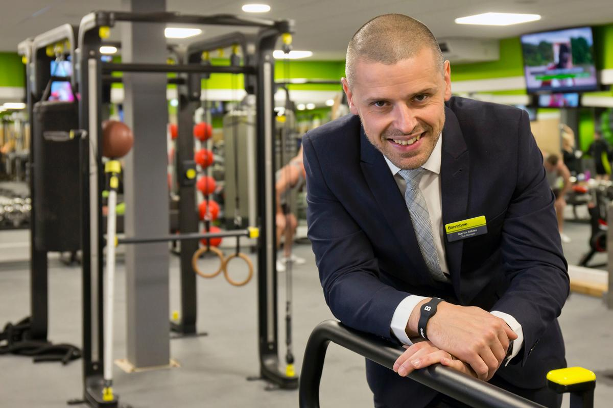 Martin Atkins is general manager at Bannatyne Health Club and Spa Mansfield