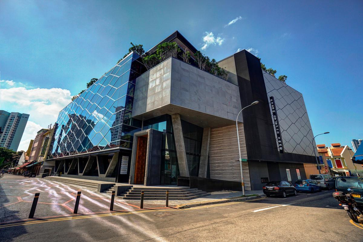 Heritage Centre Design Indian Heritage Centre