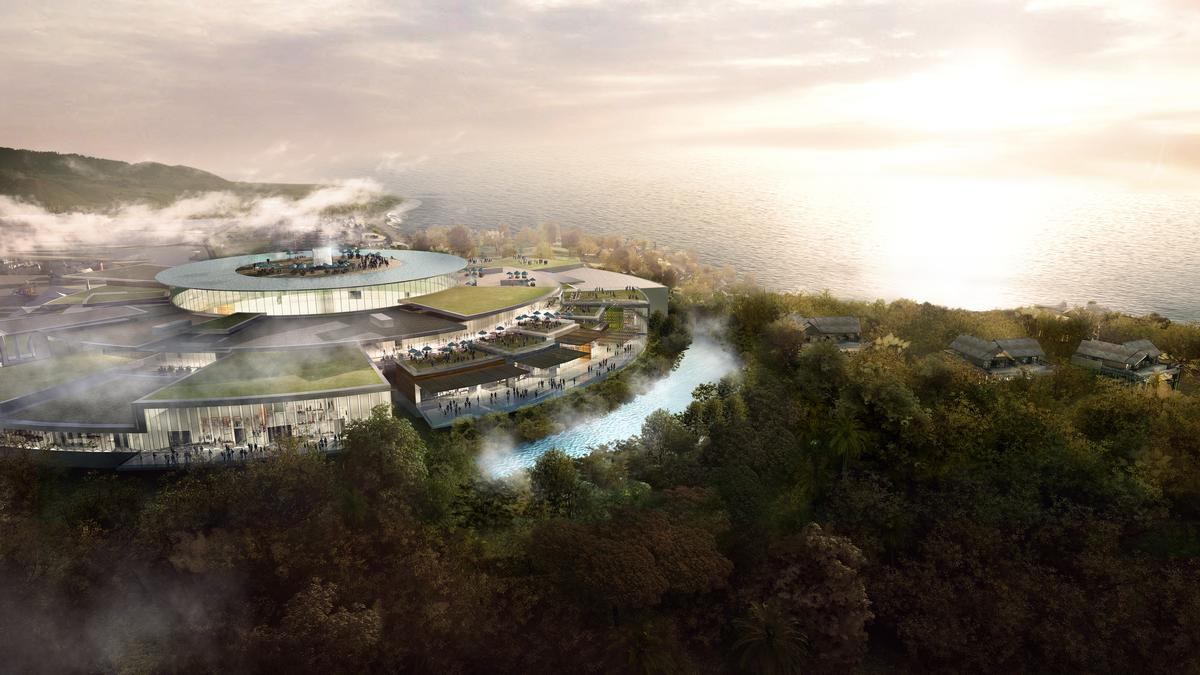 The project is being bankrolled by the Cap Padaran - Mui Dinh Eco Park Group – a consortium of several Vietnamese and international companies / Chapman Taylor