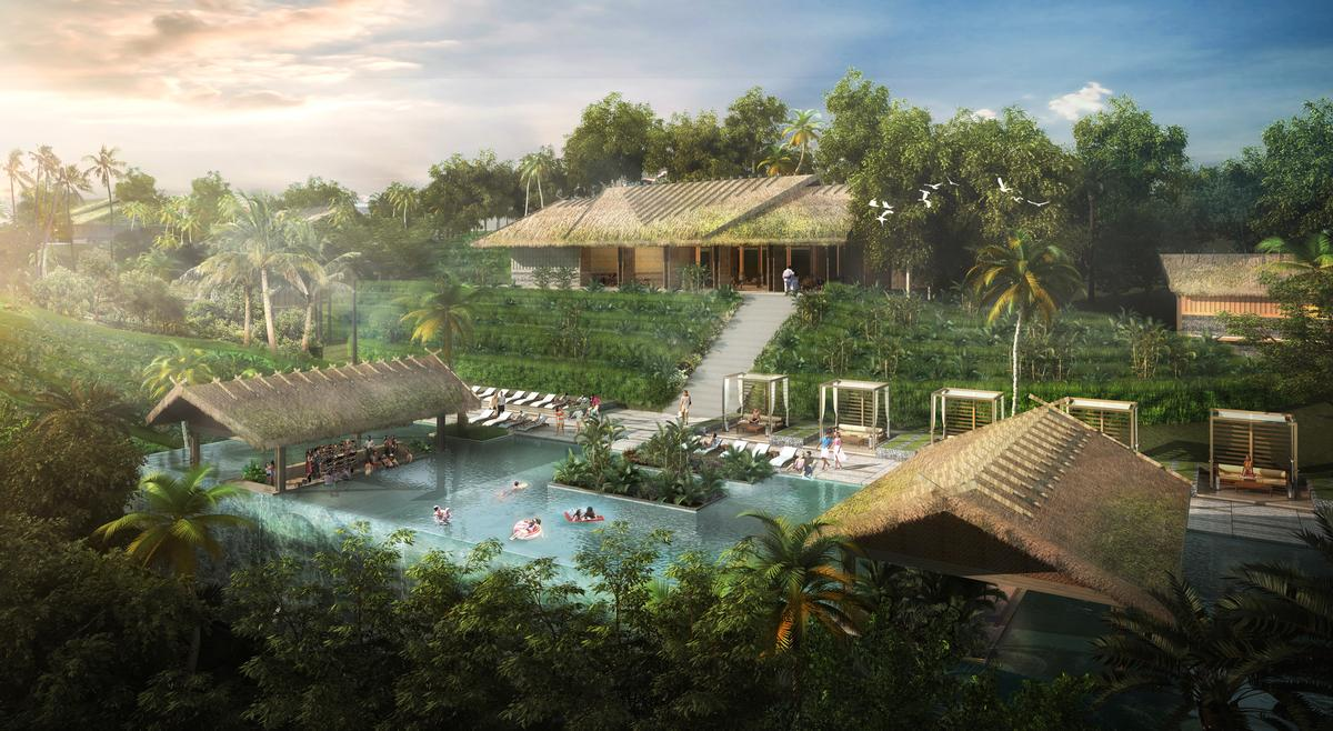 The Bangkok studio of global architects and masterplanners Chapman Taylor are creating a 1 million sq m masterplan for the Mui Dinh Eco-Resort / Chapman Taylor