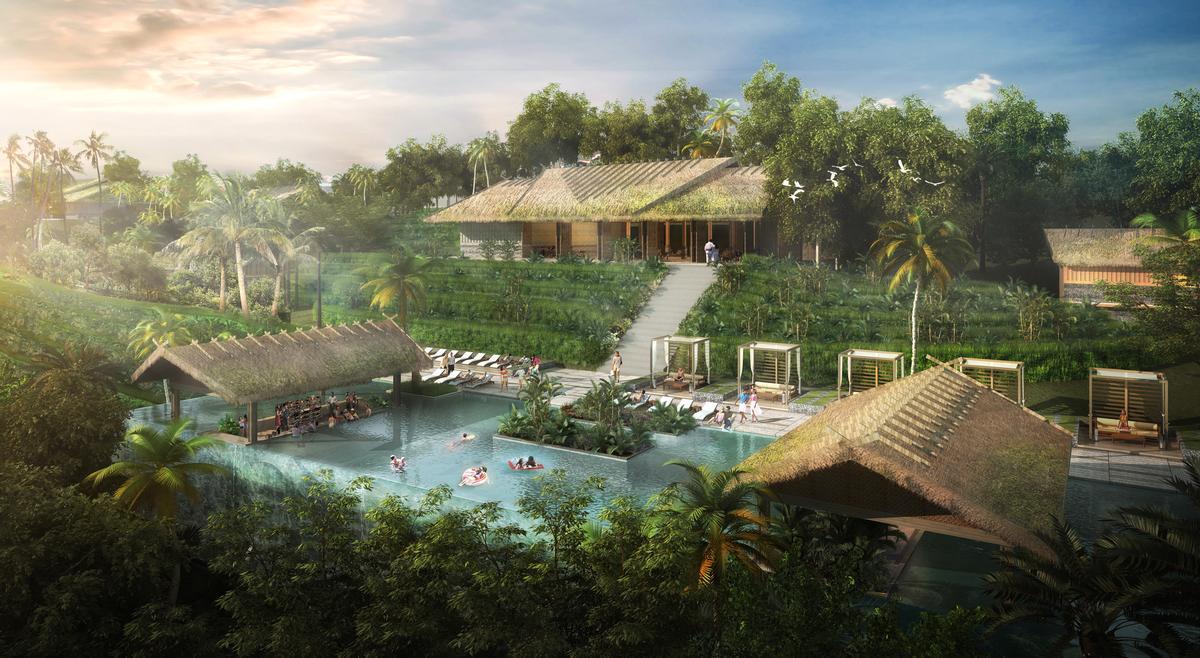 Chapman Taylor masterplan mammoth Vietnamese eco resort
