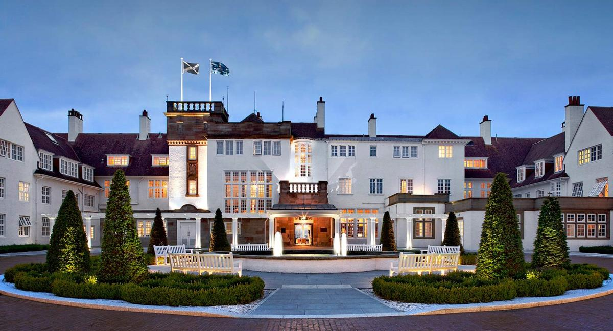 Trump has pledged the Turnberry will be 'a canvas like no other' when redevelopment work is complete