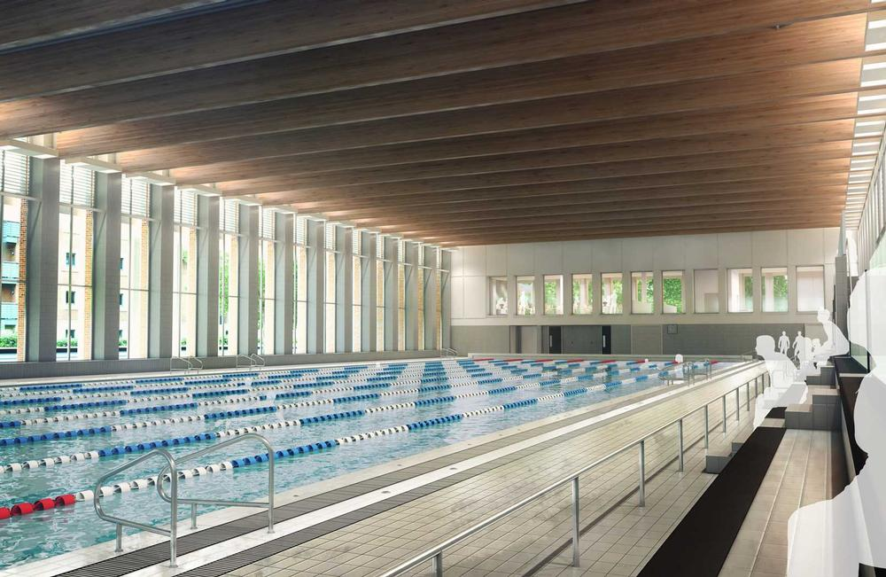Facilities at the new £50m Birmingham centre will include a 50m pool