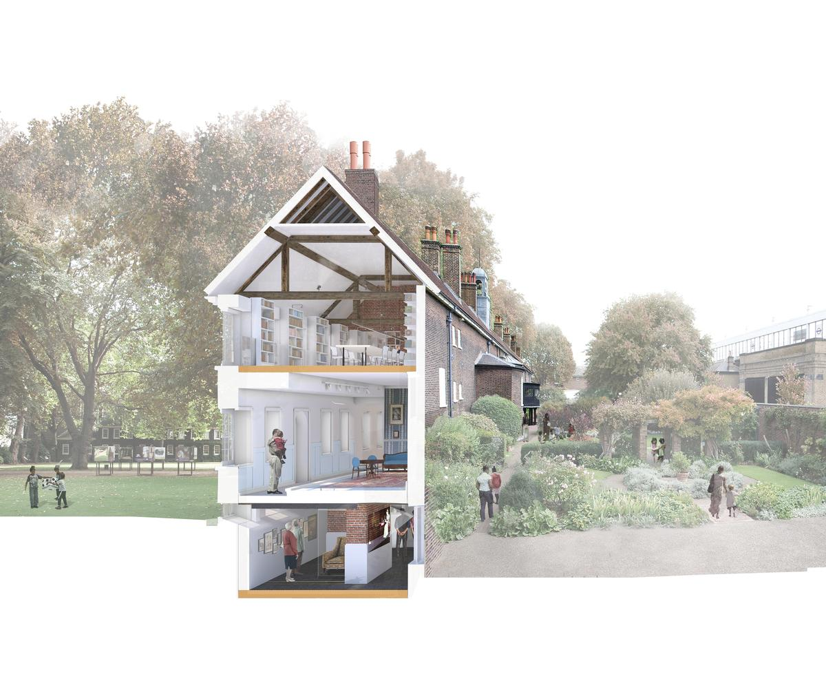 50 per cent more space will be created through the renovation and extension work / Wright & Wright Architects