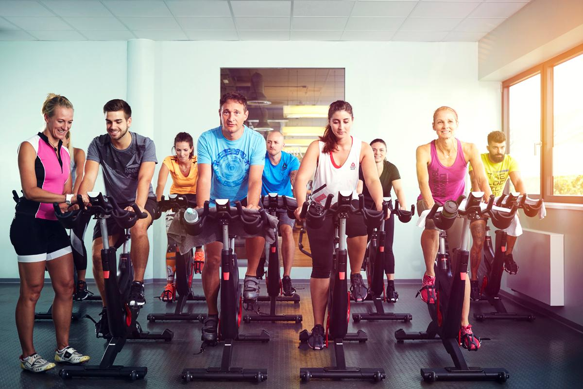 The Bike and Beats class is an addition to the brand's four other courses / Fitness First Germany