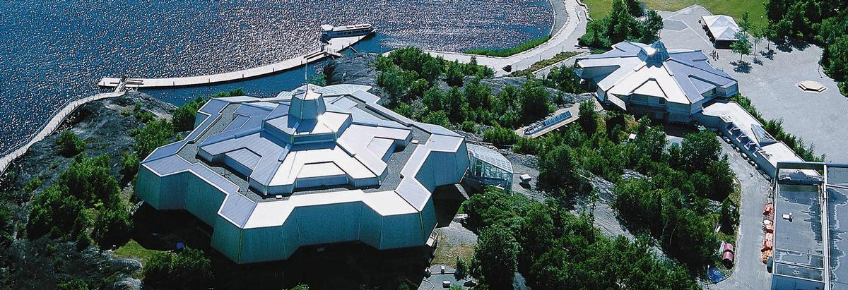 Science North opened in 1984 and is Northern Ontario's most popular tourist attraction / Science North