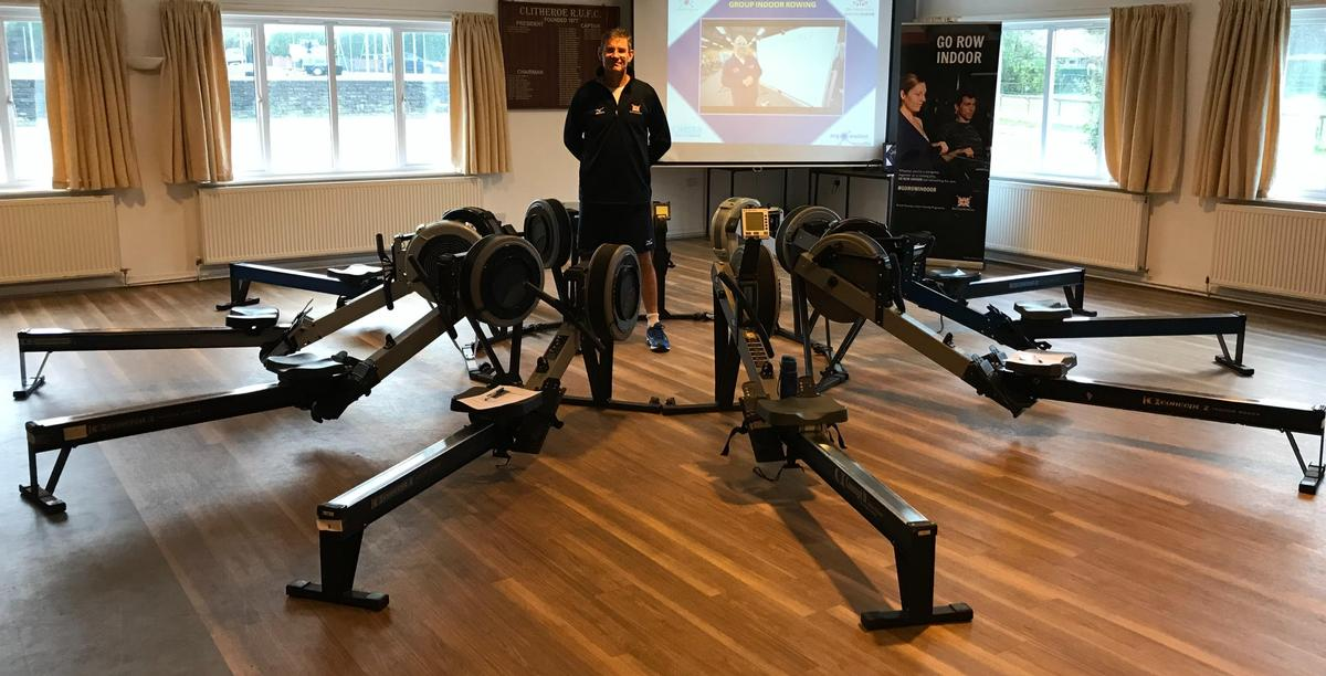 Eric Kent, master trainer for British Rowing, prepares to deliver a masterclass / British Rowing