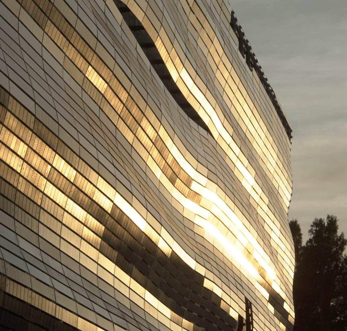 The museum has been built to anchor the city's cultural expansion; attracting tourists from home and abroad / Serge Urvoy