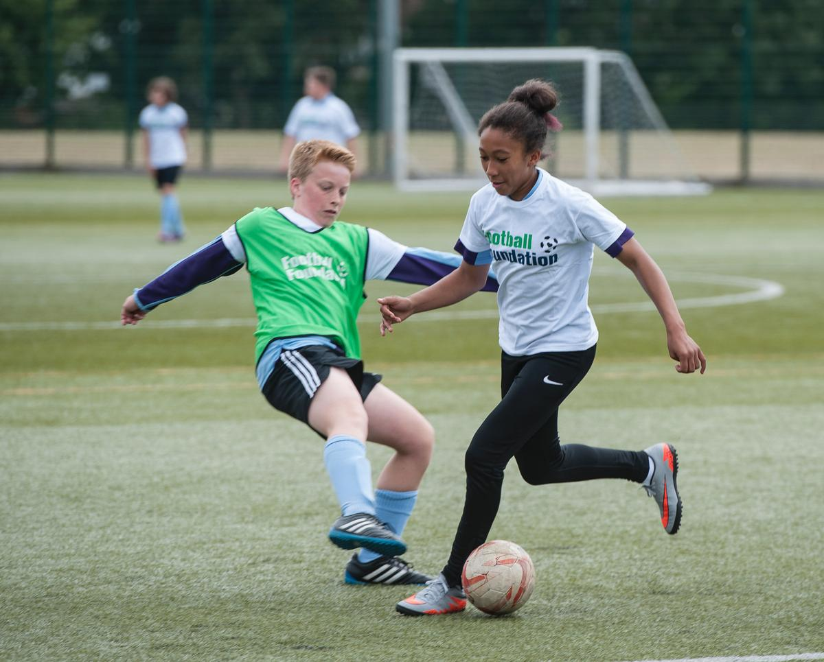The FA initially invested £1.5m to Grow the Game but has increased funds to £2.36m / The Football Foundation