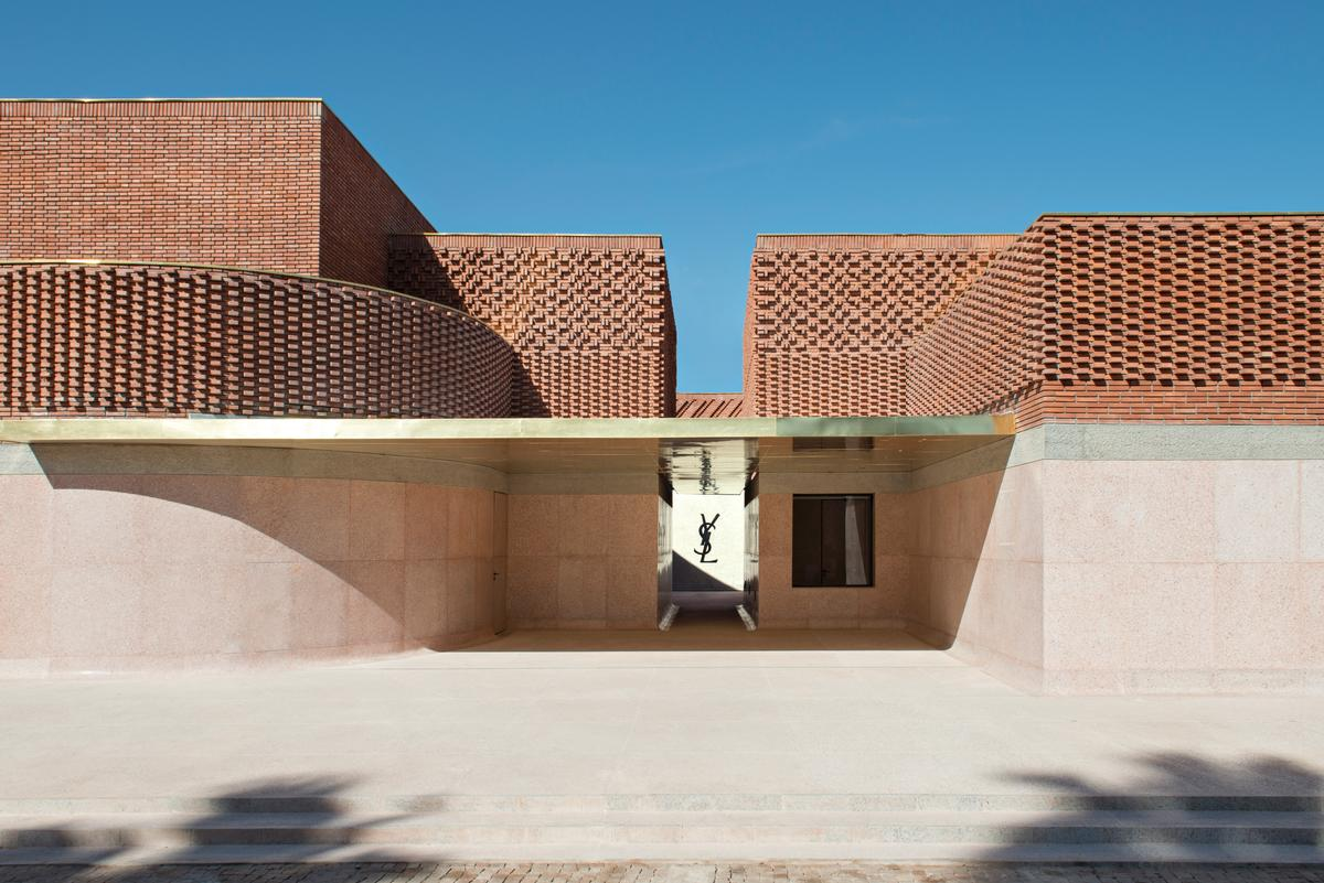 Yves Saint Laurent museum opens in Marrakech, with architecture inspired by designer's creations