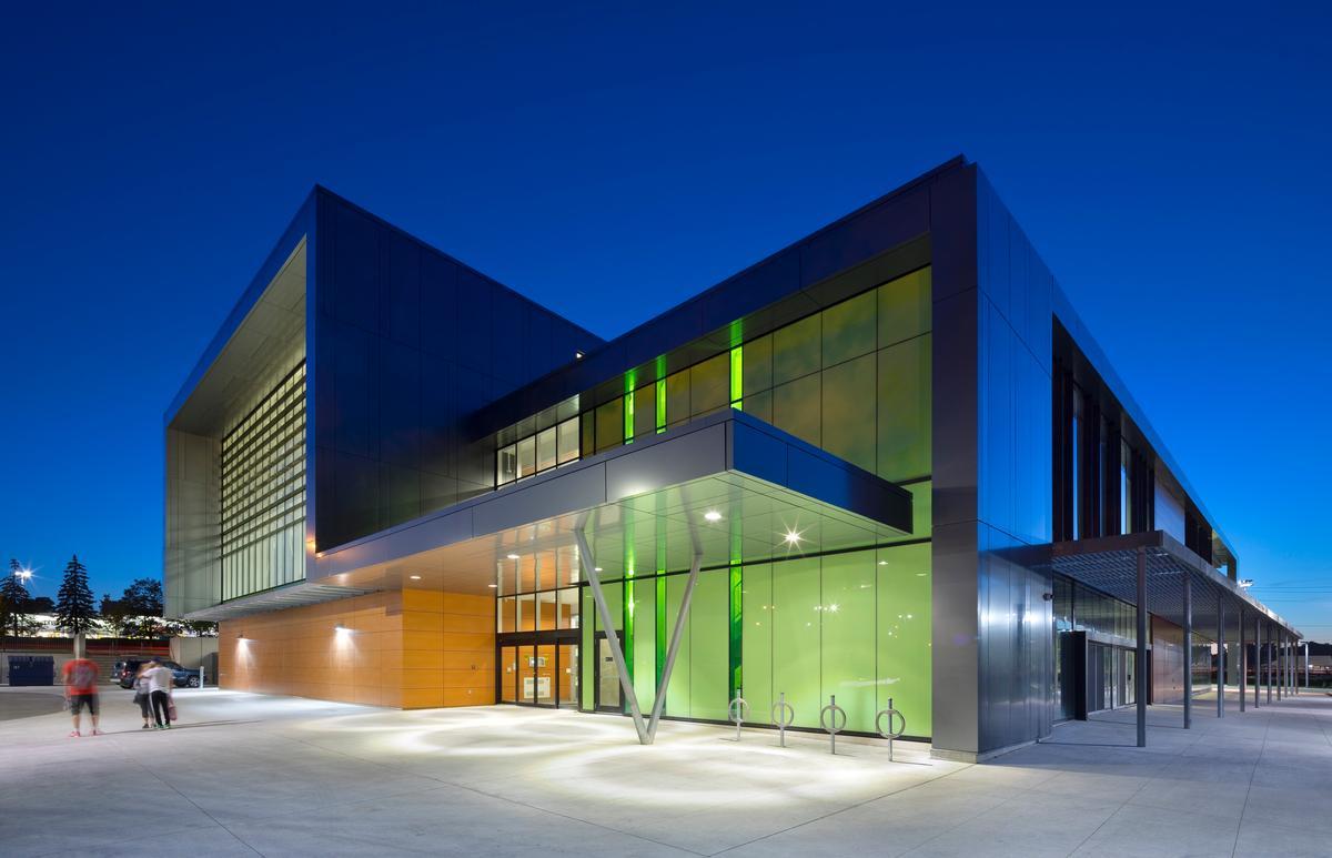 York Community Centre is an aquatics centre, gym, health club and community hub / Tom Arban