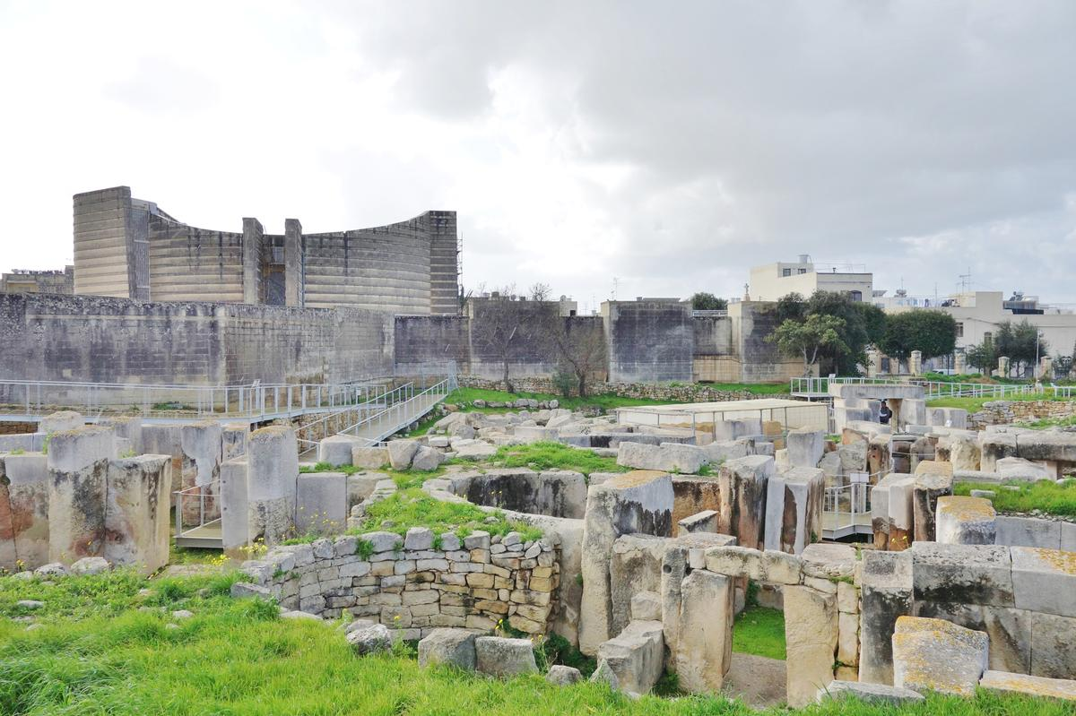 Malta's Megalithic Temples were used as an example for developing a risk management strategy / Shutterstock.com