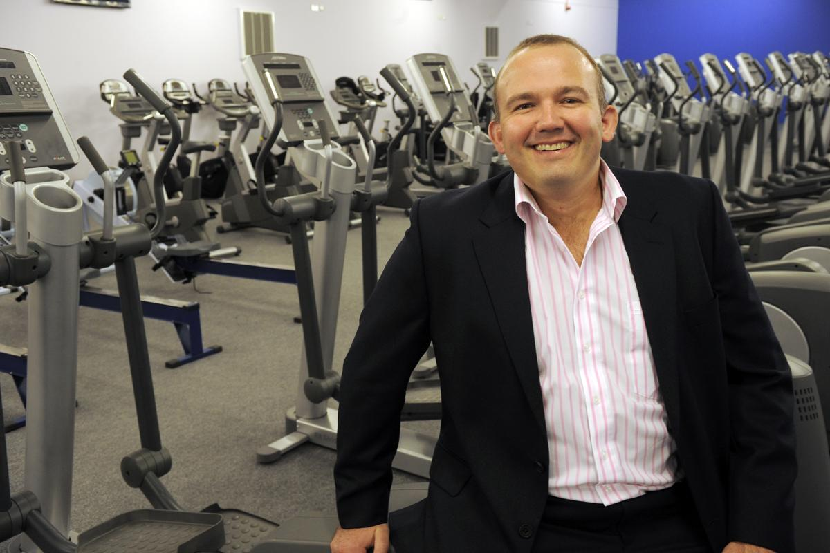 Jon Wright received praise for his efforts in trying to help reverse the childhood obesity epidemic