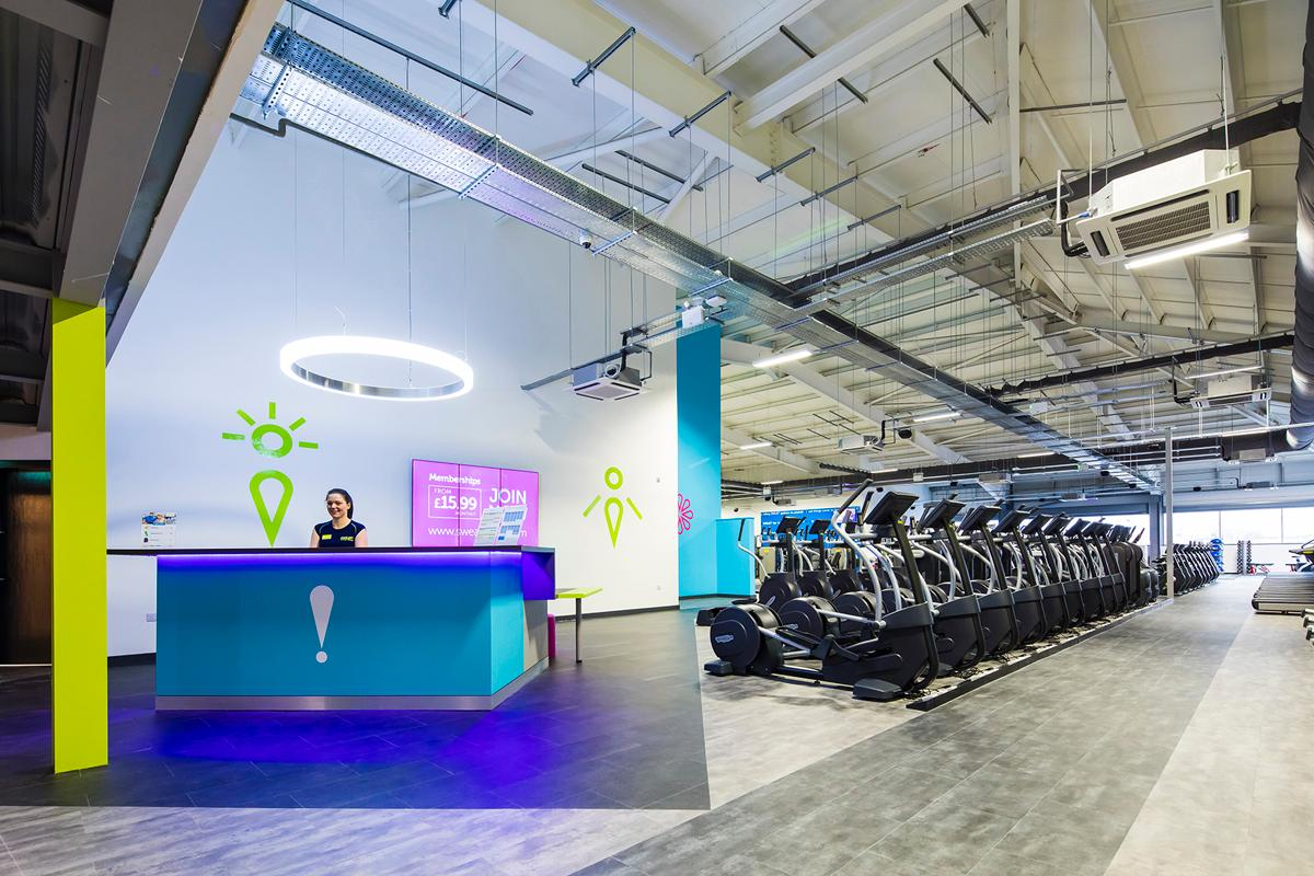 Sweat! gyms are set to be trialled in three Debenhams stores from early 2018