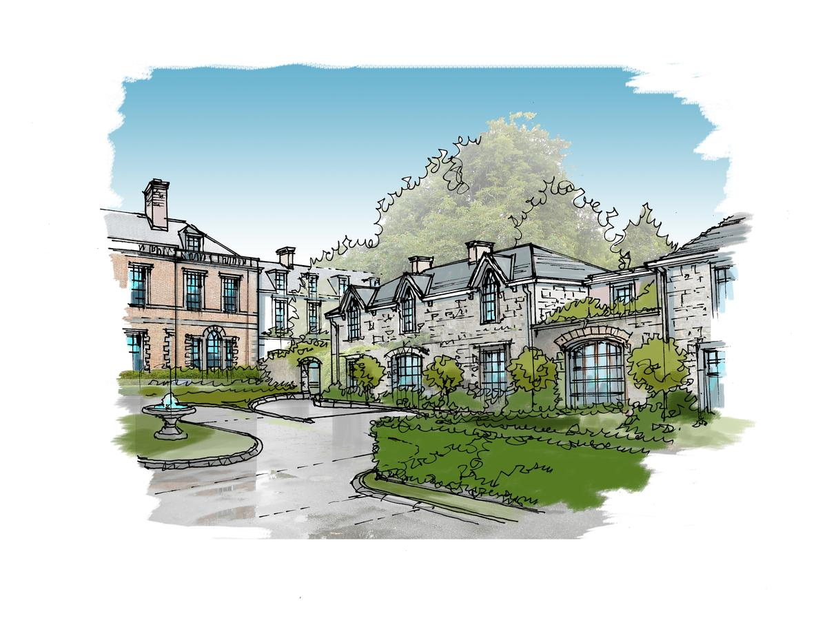 The hotel's ground will be restored and 20th century additions removed / ReardonSmith
