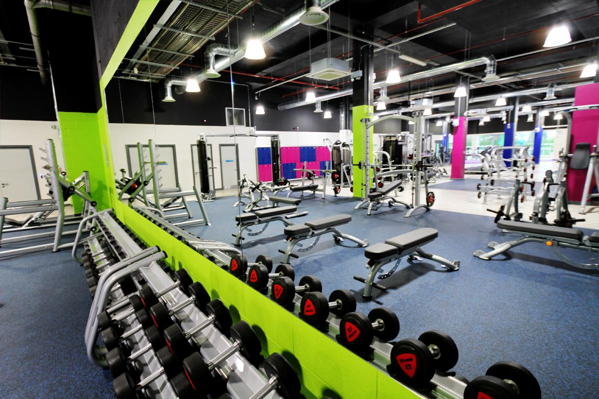 The new Places Gym in Corby provides members with more than 100 stations to accommodate their exercise needs
