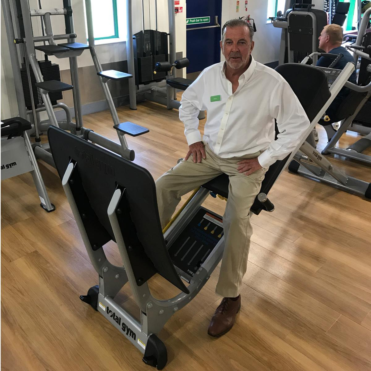Chris Lane has launched Lanes Health Club in Angmering, West Sussex