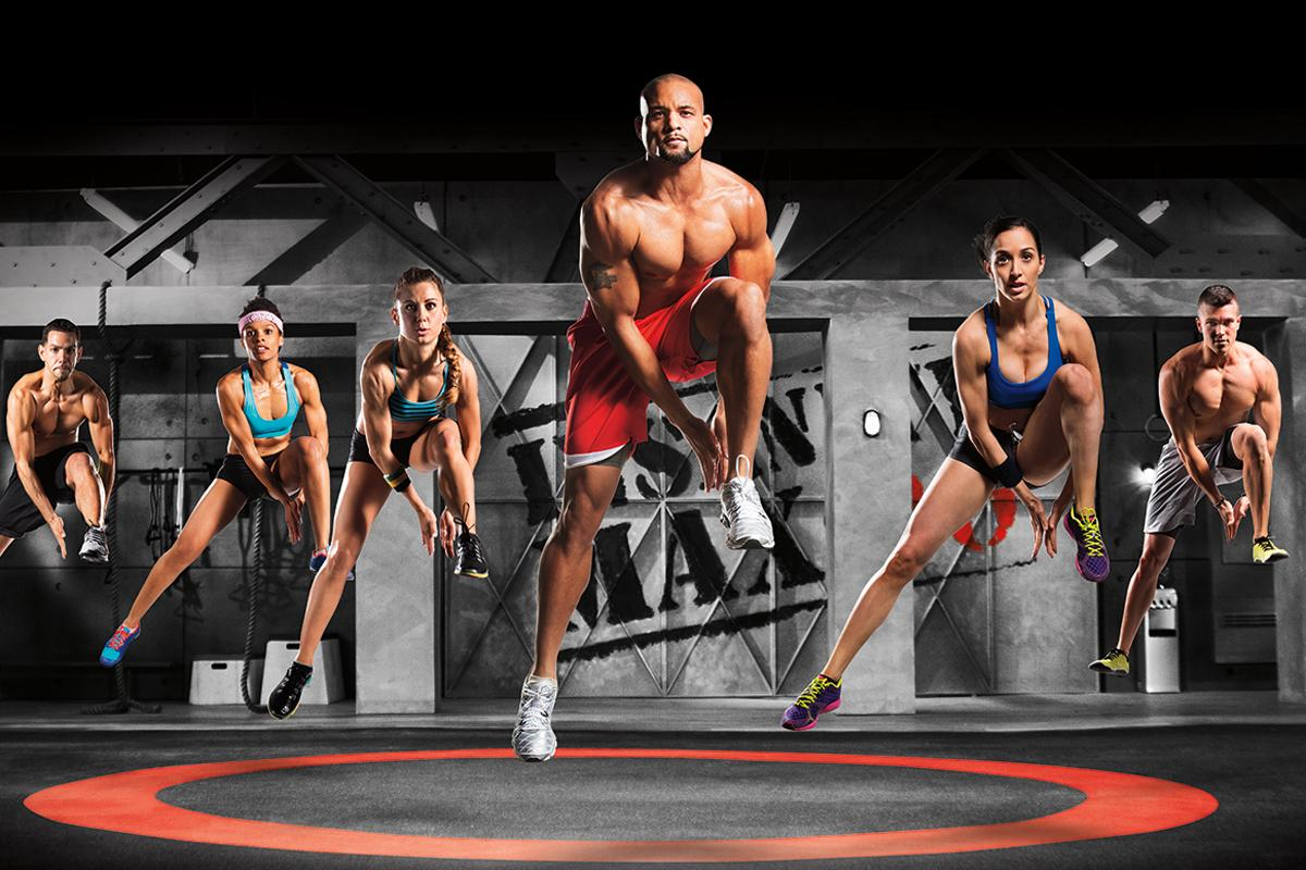 Beachbody's Insanity will be available on Wexer virtual fitness platforms