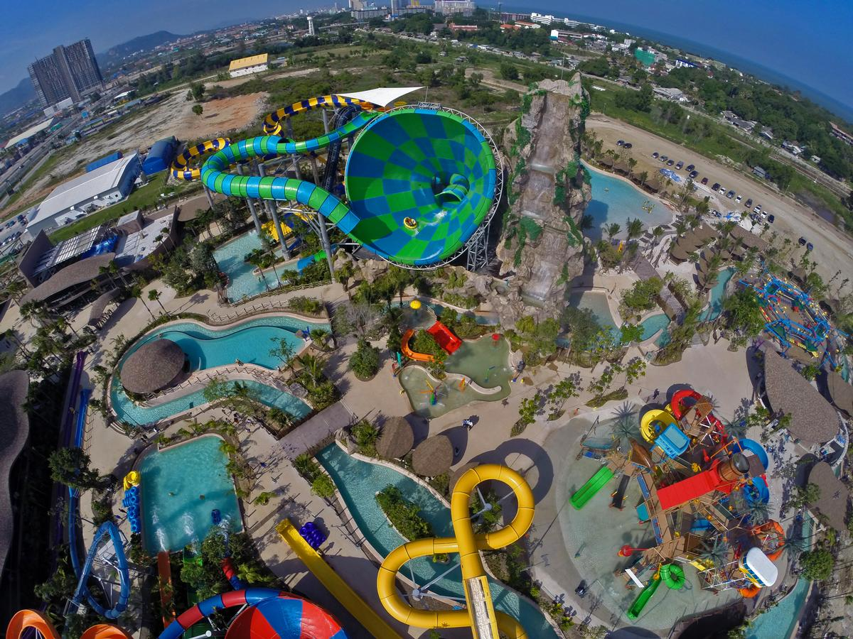 Vana Nava Hua Hin waterpark was the first stage in Proud Real Estate's leisure destination