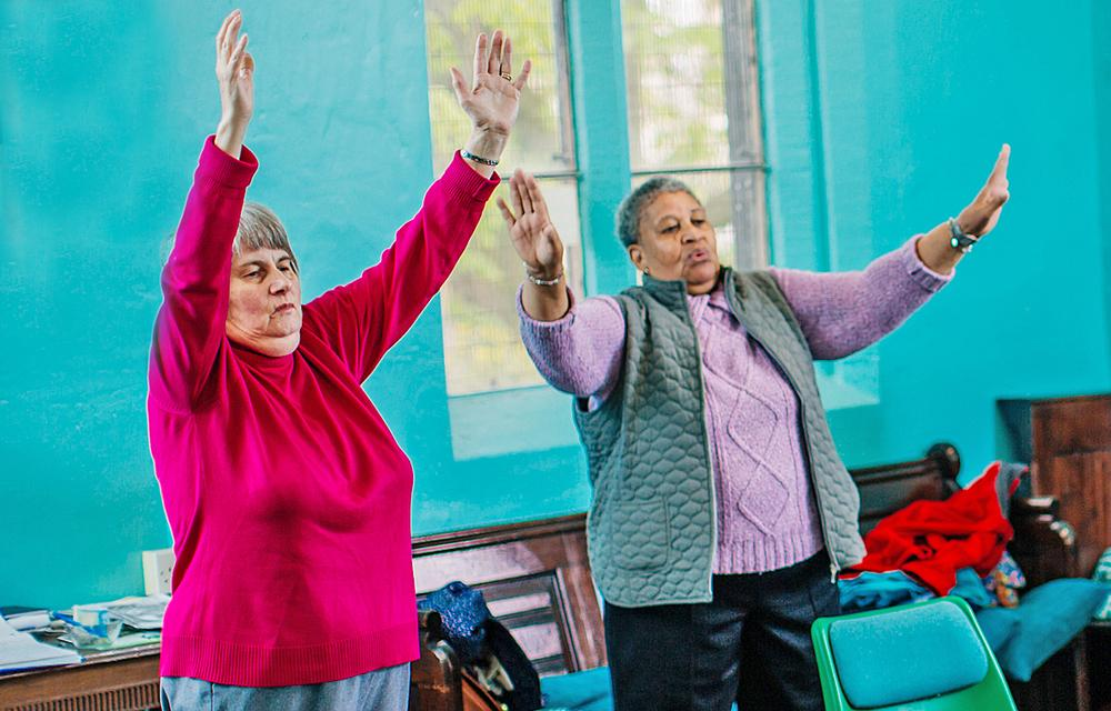 SIV run programmes that help older adults stay active