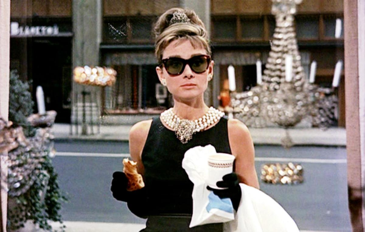 Audrey Hepburn starred as Holly Golightly in the 1961 film Breakfast at Tiffany's