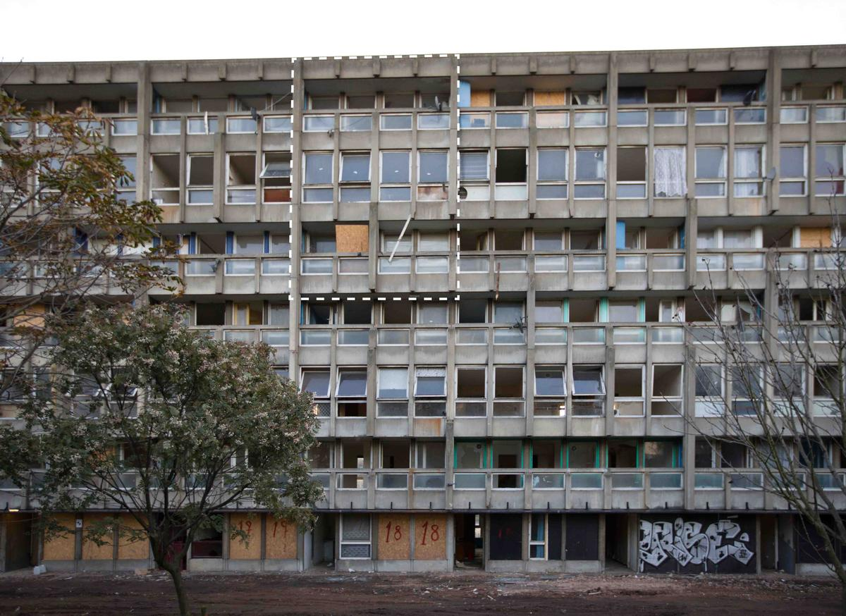 Robin Hood Gardens, completed 1972, designed by Alison and Peter Smithson / The Victoria and Albert Museum, London / The Victoria and Albert Museum