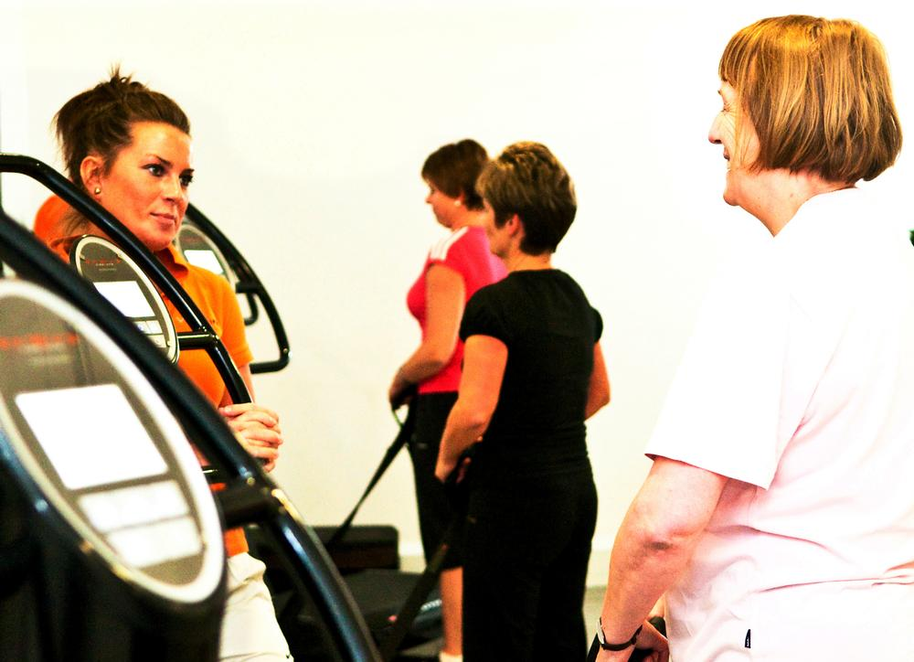 VibroGym is used by the Target Performance centre, which offers rehab-based exercise prescription
