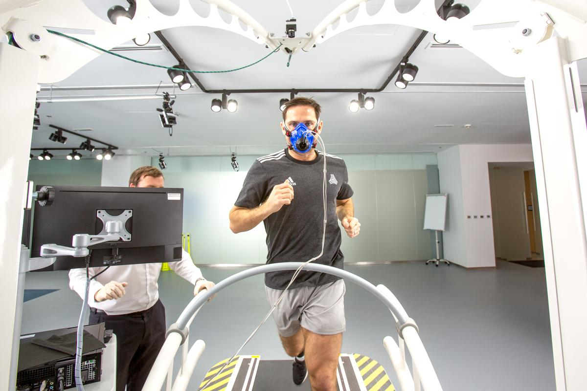 Assessments include cardio-metabolic and muscle activation testing, 3D posture and motion analysis, functional agility assessments and hand-eye coordination testing / Jonathan Gainer
