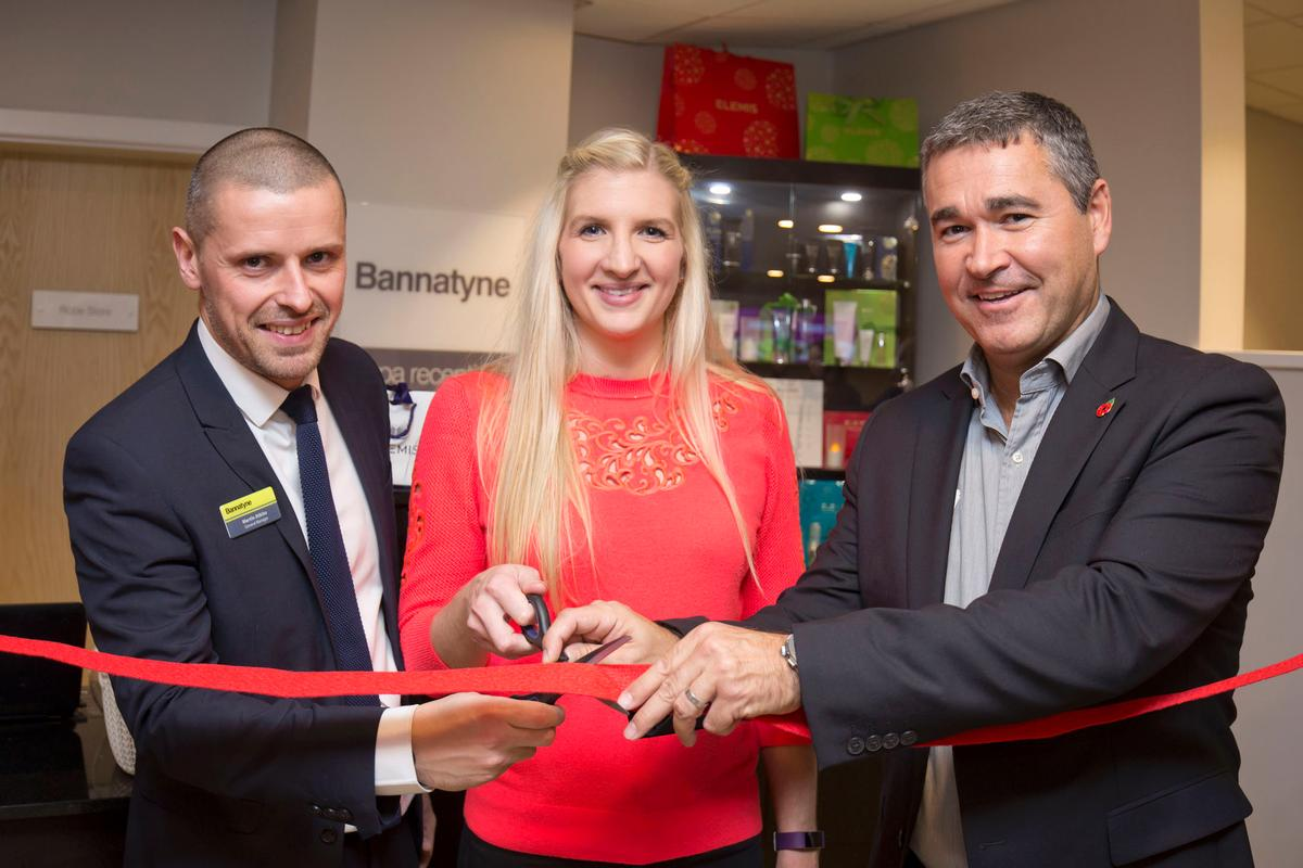 The spa was opened by Olympic champion Becky Adlington, who will deliver her SwimStars programme at the Mansfield club / Bannatyne Group