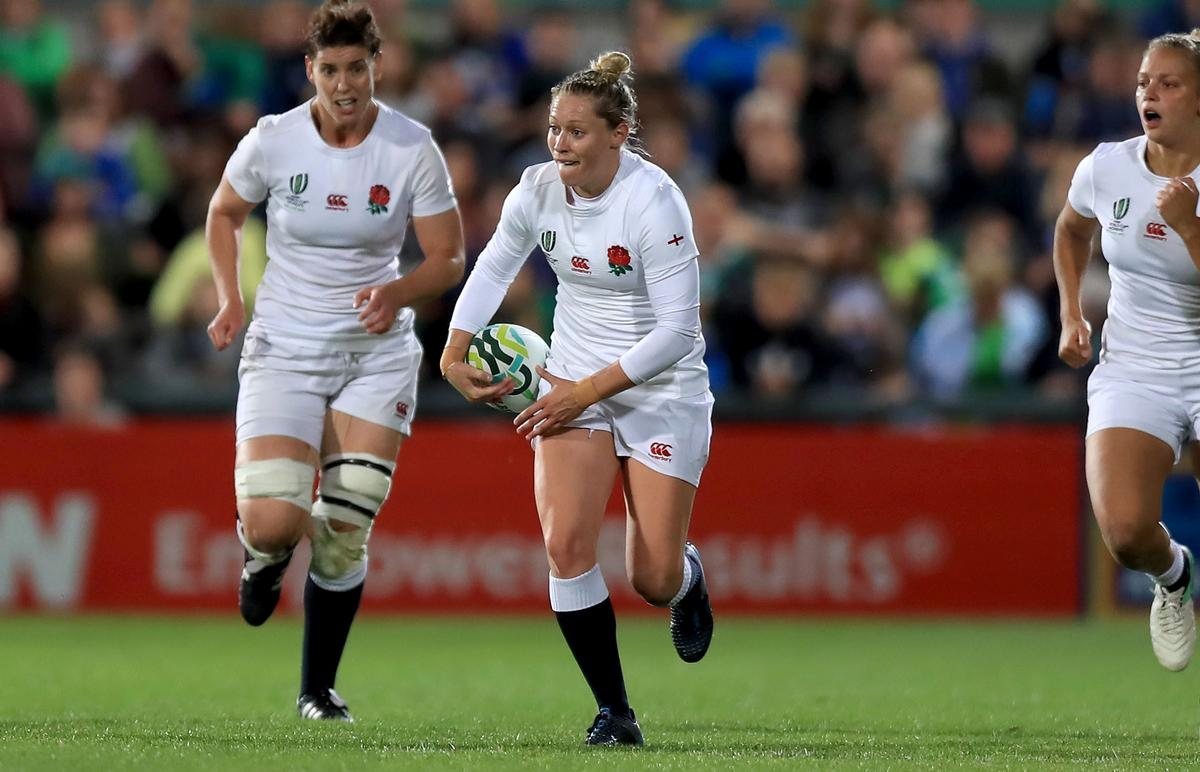 England's Natasha Hunt is one of the players helping to inspire a new generation of women into the sport as the team reached the 2017 Women's World Cup Final / Donall Farmer/PA Wire/PA Images