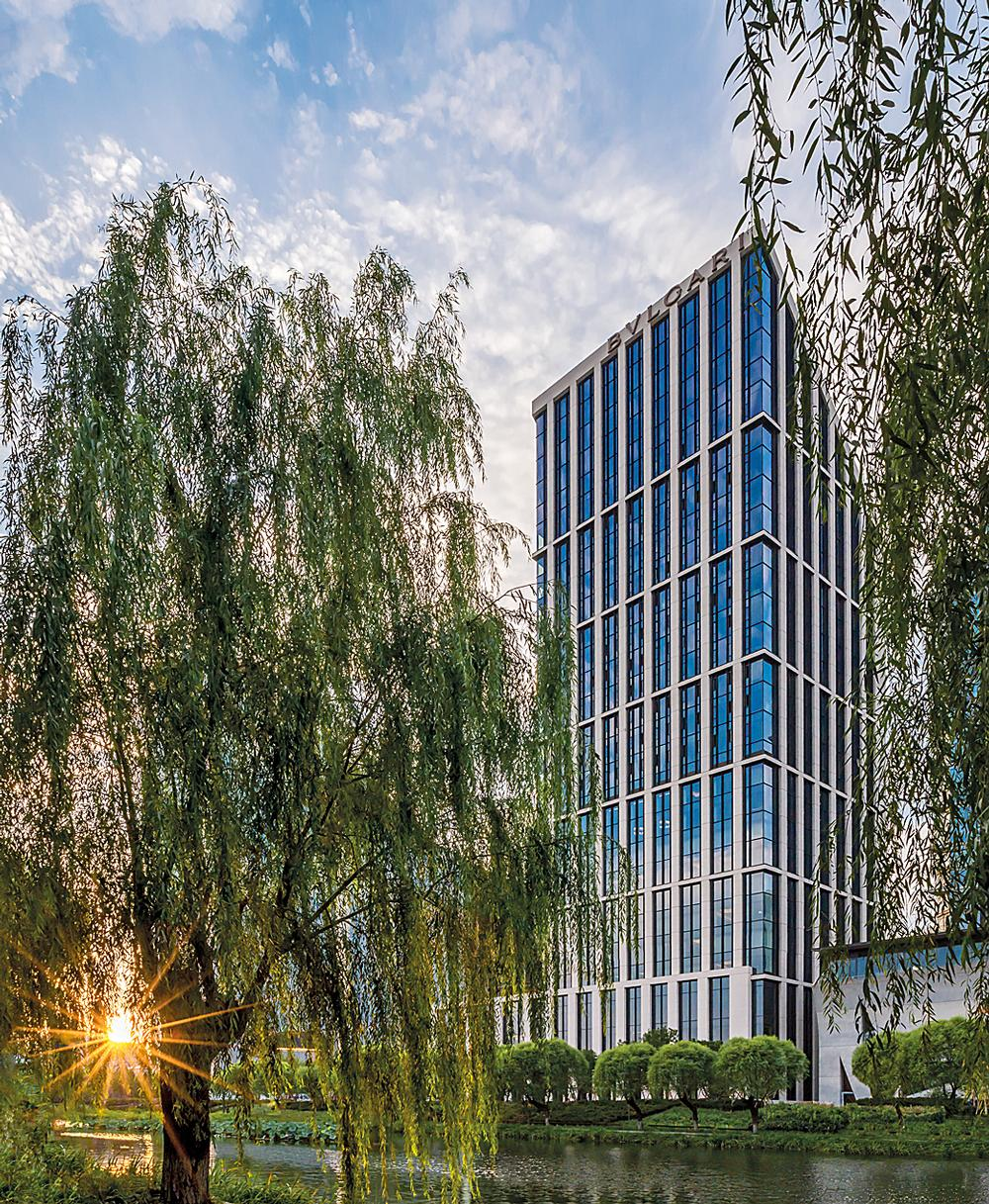 The Bulgari Hotel Beijing opened in September