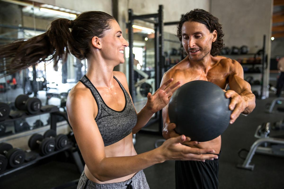 HIIT returned to the number one position in the survey after four years, with group exercise named as the second biggest trend for 2018 / Shutterstock