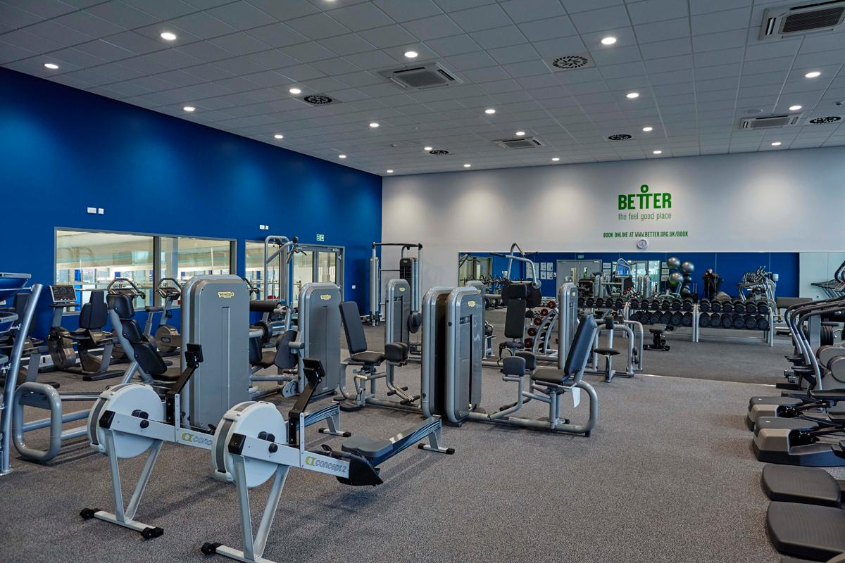 The Leisure Centre S 70 Station Gym Features Equipment From Technogym