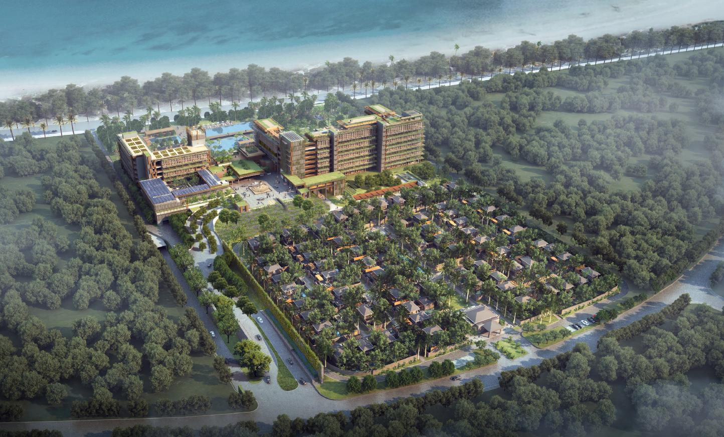 The 280-bedroom hotel is the first for the brand in China, and will open in Sanya in 2018