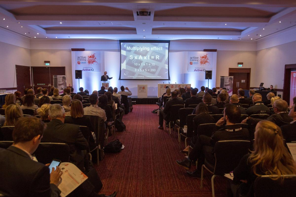 Last year's Active Training Conference drew leaders from across the physical activity sector / ukactive