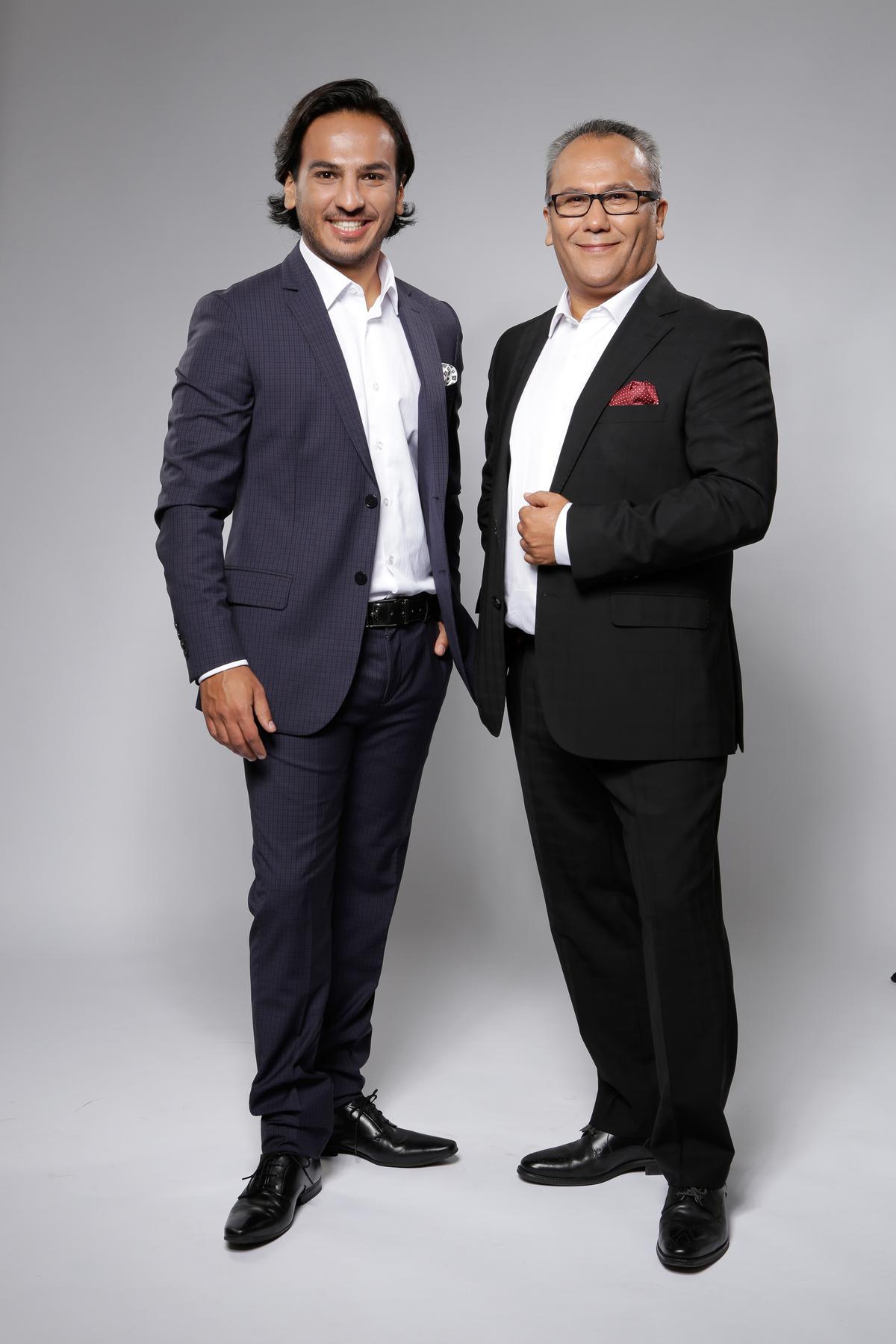 Tolga (left) and Mehmet Er will help drive the international expansion of Vinoble Cosmetics / Vinoble Cosmetics