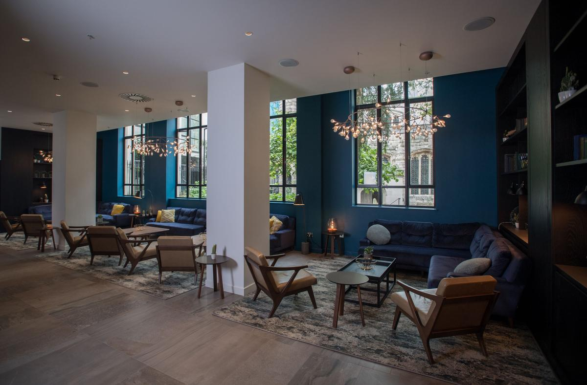The nine-month project saw the hotel's public areas given a makeover / Apex City of London