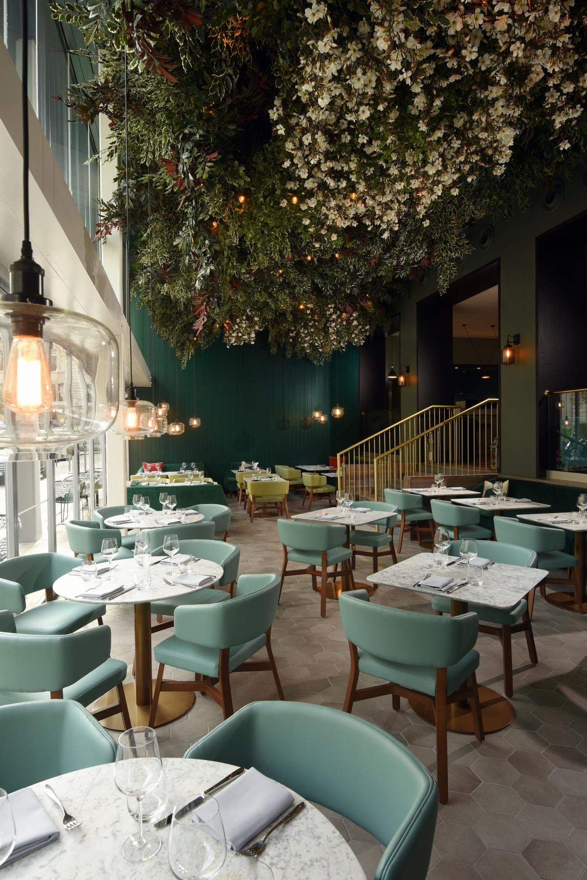 The Lampery restaurant features concepts by hospitality and events company Concerto / Apex City of London