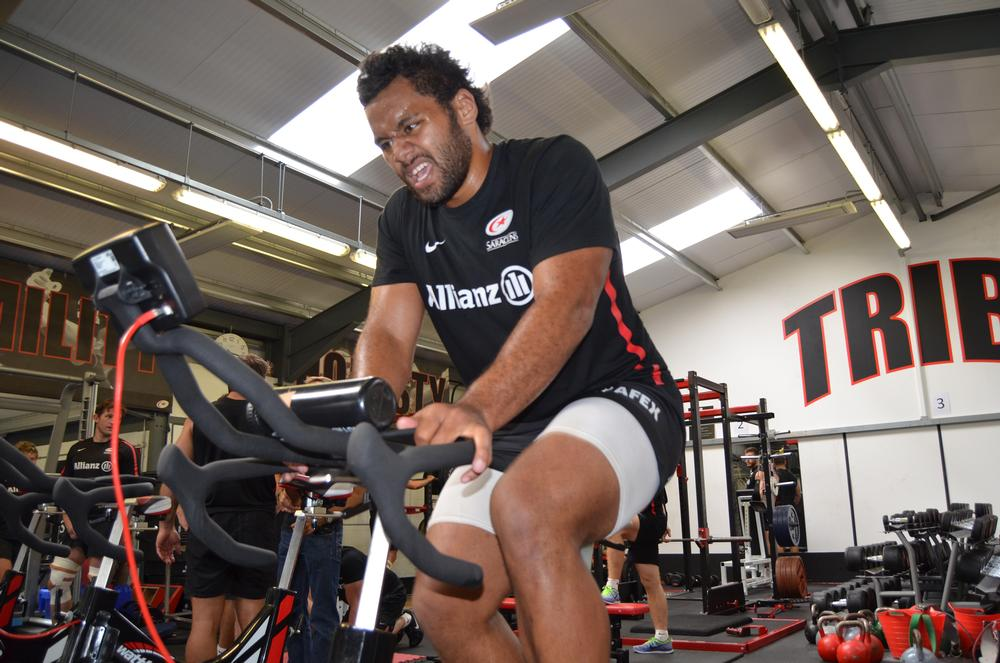 Billy Vunipola, Saracens and England Back-Row, is renowned for his power