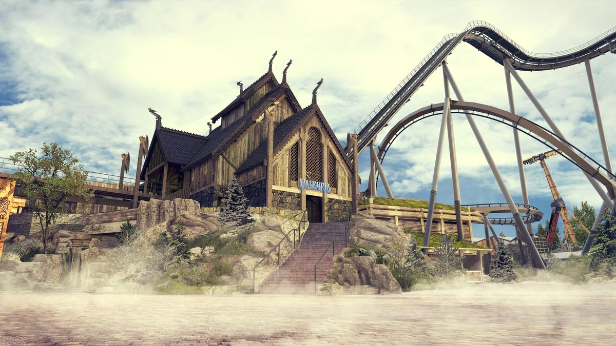 Liseberg's next major investment is Valkyria – a steel dive coaster by Bolliger and Mabillard / Liseberg