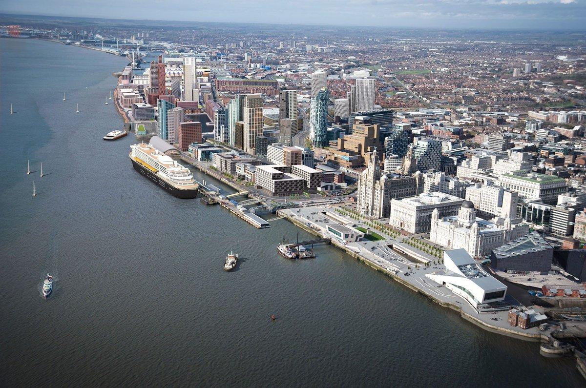 The stadium has been conceived as a catalyst for the £5.5bn (US$7.3bn, €6.1bn) regeneration proposals for North Liverpool centred around Liverpool Waters at Bramley Moore Dock / Liverpool Waters