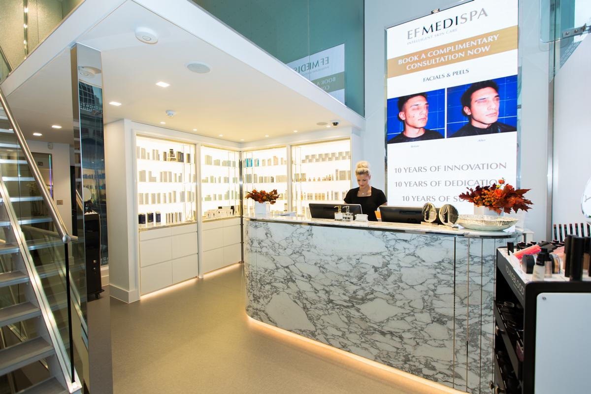 The Richmond clinic will specialise in facial rejuvenation, body toning and intelligent skincare. / EF Medispa